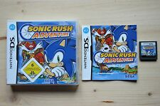 NDS - Sonic Rush Adventure - (OVP, mit Anleitung)