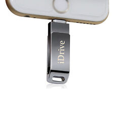 Externer Speicher USB iDrive Flash für iPhone 5 6 7 iPad Air iPod Touch 64GB