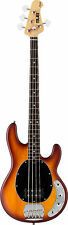 Sterling by Music Man Sub Series RAY4HBS Electric Bass Guitar Honey Burst Satin