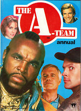 THE A-TEAM Annual–1984-World Int Publishing-Hard Cover-63 pages-Hard To Find