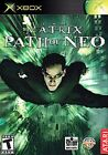 3 NEW Factory sealed The Matrix Path of Neo games for the original XBOX System