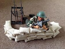 Set of 15 Handmade Toy Soldier Sandbags Action Figure Model Accessories