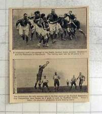 1925 Rugby Blackheath Playing Harlequins, Corinthians Beaten By Sheffield United