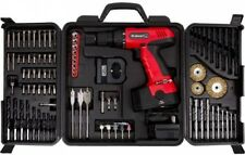 Stalwart 89-Piece 18-Volt Cordless Drill Set Includes Screwdriver Bits and Case