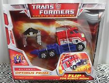 OPTIMUS PRIME CLASSIC VOYAGER RID Transformers 2006 Robot Truck Semi Hasbro NEW