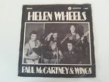 PAUL MCCARTNEY & WINGS  helen wheels  MEGA RARE  ISRAELI P/S