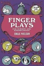 Finger Plays for Nursery and Kindergarten (Dover Children's Activity Books)