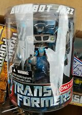 TRANSFORMERS 2007 1st Movie TARGET Exclusive Deluxe JAZZ Sealed Canister NEW!