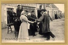 Cpa Scènes Berrichonnes - Bourrée de Saint Chartier Indre Folklore Danse al05