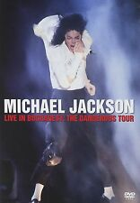 41326// MICHAEL JACKSON LIVE IN BUCHAREST THE DANGEROUS TOUR DVD TBE