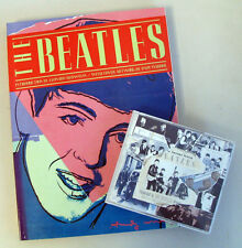 LOT THE BEATLES ANTHOLOGY Vol 1 CD SET + THE BEATLES BOOK Geoffrey Stokes