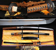 Full Tang Japanese Katana Samurai Sword very Sharp Handmade Carbon Steel Blade