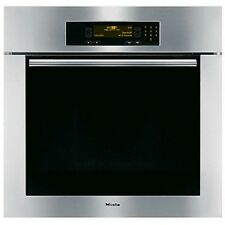 "Miele 30"" H4882BPSS Single Electric Convection Stainless Steel Wall Oven"