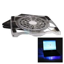 """New 15.4"""" Laptop Notebook USB Large Fan LED Light Air Cooling Cooler Stand Pad"""