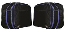 BMW R1200GS VARIO PANNIER LINER BAGS EXPANDABLE IN BLUE COLOUR