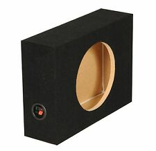 "Q-Power Shallow Single 12"" Sealed Truck Subwoofer Sub Box 