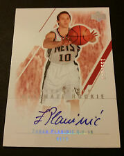 Zoran Planinic Nets Moscow 2004 Upper Deck Autograph Signed Certified JG4