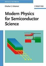 NEW - Modern Physics for Semiconductor Science (Physics Textbook)