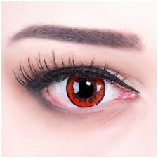 Coloured Contact Lenses Red angel Contacts Color Carnival + Free Case