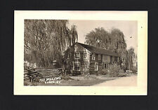 Berea Kentucky KY c1940s RPPC The Old Willows Log Cabin Antique Store in Country