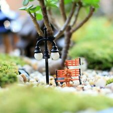5Pcs Random Miniature Fairy Garden Lamp Streetlights Ornament Yard pop Decor #