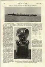 1897 Hm Ss Swordfish And Spitfire Search Light Tower Steady Platform
