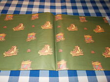VINTAGE CHRISTMAS WRAPPING PAPER UNUSED RETRO GIFT WRAP #1