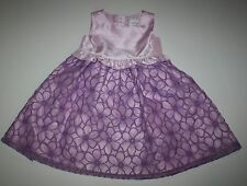 New Gymboree Lilac Embroidered Flower Dress Size 3T Holiday Egg Hunt Easter