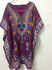 AFRICAN Mexican shirt DASHIKI Men women print caftan kaftan boho  junkgo summer