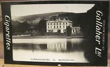 CURRAGHMORE Manor Big House Waterford Cig Card GALLAHER IRISH VIEWS 137 Ireland