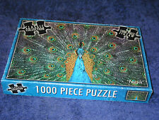 PEACOCK 1000-piece Woolworths Classic Collection jigsaw puzzle. Exotic bird tail