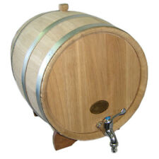 8 Gallon NEW! NOW THICKER WOOD Europe Oak Rum Whiskey Barrel Beer Keg Wine Cask