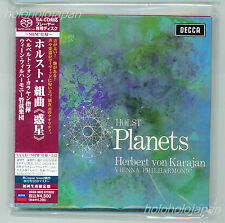 SHM SACD Karajan ViennaPhilharmonic Holst:The Planets LimitedEdition Japan ver.