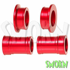 RFX Pro Series Front & Rear Wheel Spacers Suzuki RM 125 250 01-08 Red Anodised