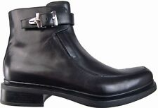 New Authentic $860 Cesare Paciotti US 7.5 Ankle Boots Italian Designer Shoes