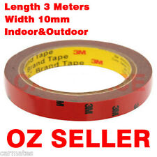 3M Genuine Double Face Sided Tape 10mm 3 Meters for Indoor Outdoot Sign LED