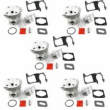 5 SETS Cylinder Piston 44MM WT Gasket For Husqvarna Chainsaw 350 351 353 346 XP