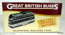 Atlas 1/76 Scale 6455113 Blackpool Balloon Tram Diecast model bus