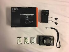 Sony RX100 IV With Spare Batteries, Screen Protector, And Grip