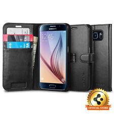 [Spigen Factory Outlet] Samsung Galaxy S6 Case Wallet S Black