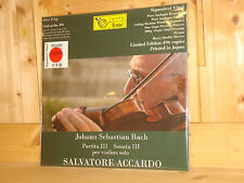 Bach Partita & Sonata No.3 SALVATORE ACCARDO Violin Audiophile FONE LP SEALED
