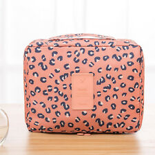 Multifunction Travel Cosmetic Bag Makeup Case Toiletry Zip Wash Organizer Holder