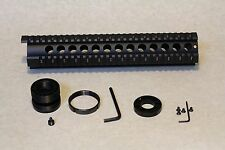 "12"" free float quad rail Hand Guard w/ front end cap for Ruger RPR"