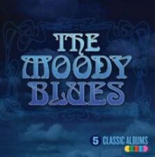 5 Classic Albums 0602547671967 by Moody Blues, CD Box Set, BRAND NEW FREE P&H