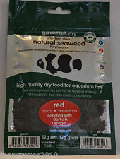 Tropical Marine Centre Marine Aquarium Seaweed Fish Food Red