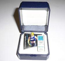 2004 Olympic Games Athens SPONSOR COSMOTE DISCUS THROW Anastasia Kelesidou PIN 2