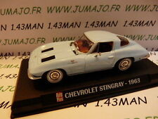 Voiture 1/43 IXO AUTO PLUS : CHEVROLET Stingray 1963