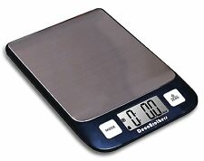 Small Digital Kitchen Food Diet Postal Scale 11lbs Metal Electronic LCD Display