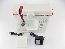 Janome Sew Mini Model 525 Portable Versatile Sewing Machine In The Box