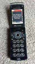 Sony Ericsson Walkman W980 Black (ee) Mobile Phone 8GB with accessories.